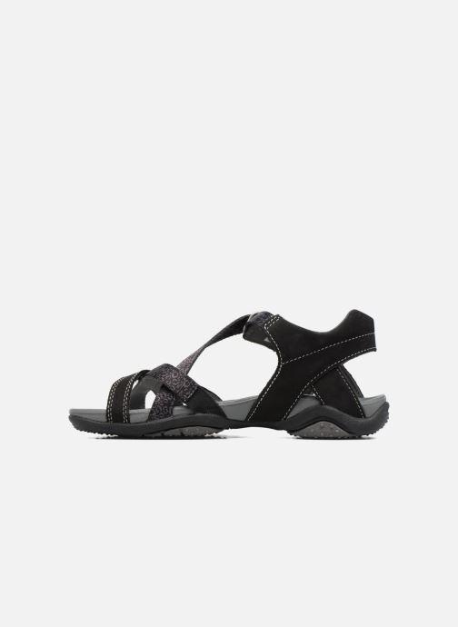 Sandales et nu-pieds Superfit Nancy Noir vue face