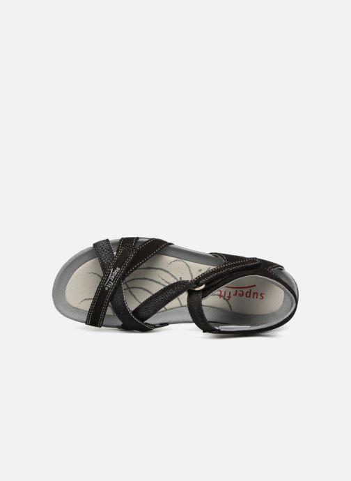Sandales et nu-pieds Superfit Nancy Noir vue gauche