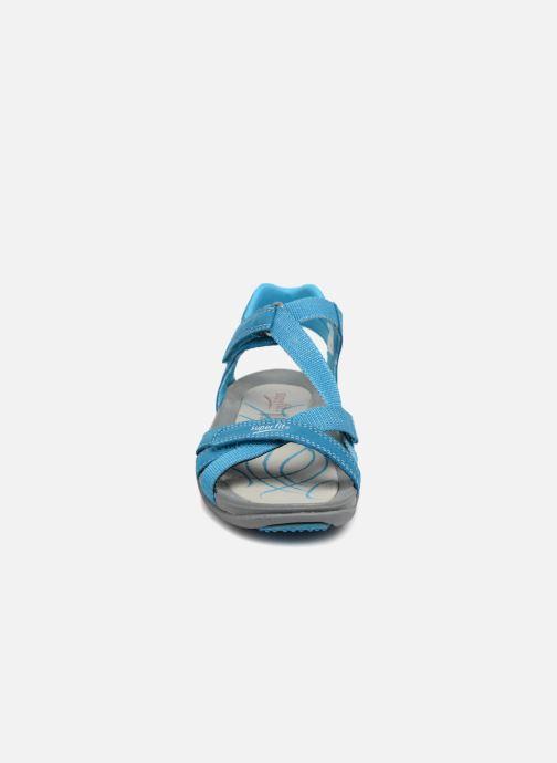Sandales et nu-pieds Superfit Nancy Bleu vue portées chaussures