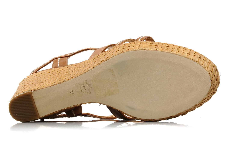 Sandales et nu-pieds Luciano Barachini Bridia Marron vue haut