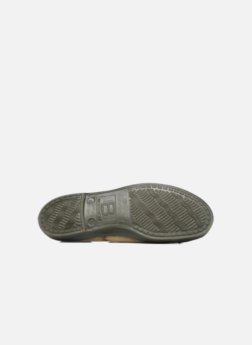 Trainers Bensimon Tennis Colorsole Green view from above