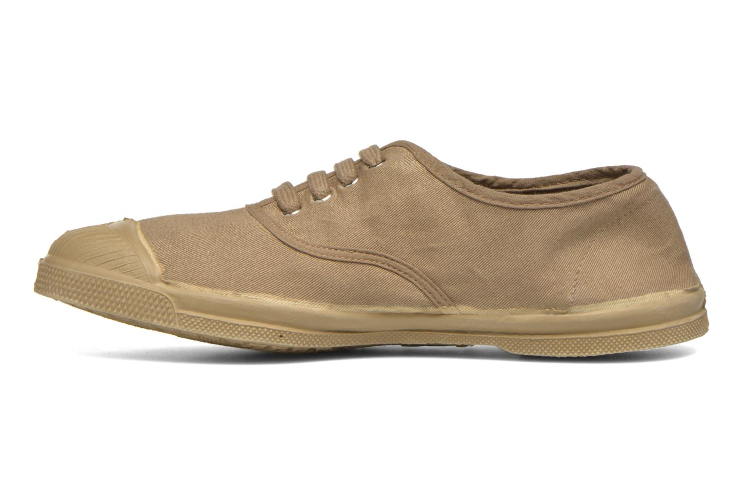 Trainers Bensimon Tennis Colorsole Beige front view