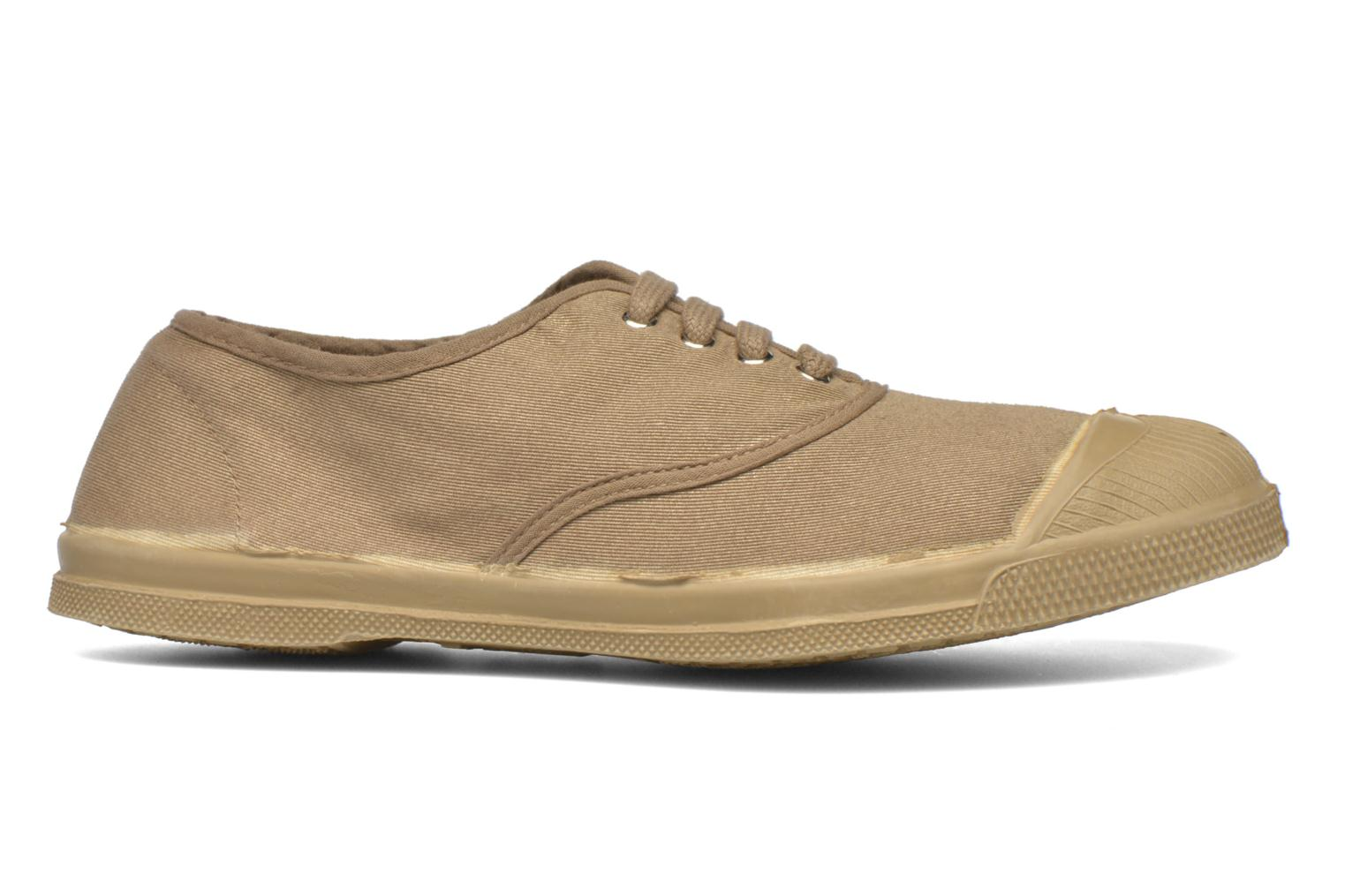Trainers Bensimon Tennis Colorsole Beige back view