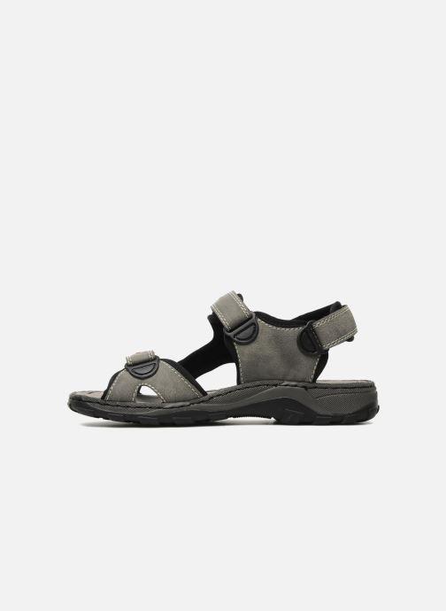 Sandali e scarpe aperte Rieker Christian Grigio immagine frontale
