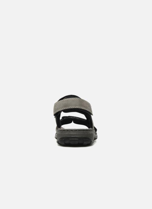 Sandali e scarpe aperte Rieker Christian Grigio immagine destra