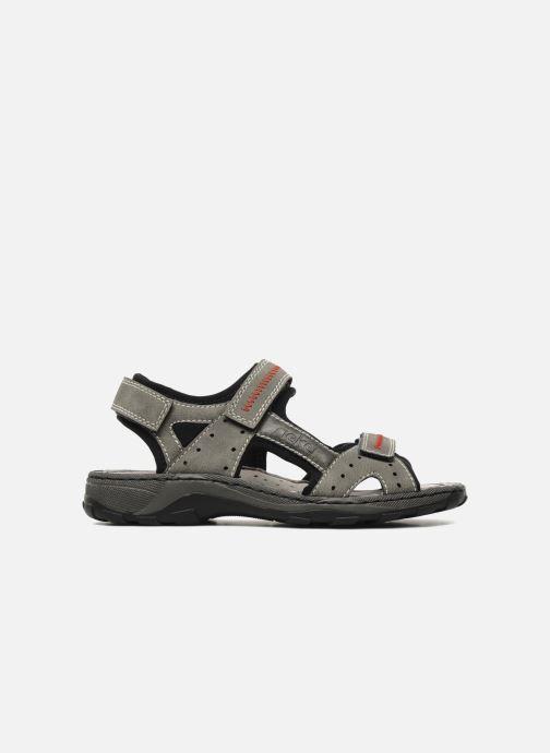 Sandali e scarpe aperte Rieker Christian Grigio immagine posteriore