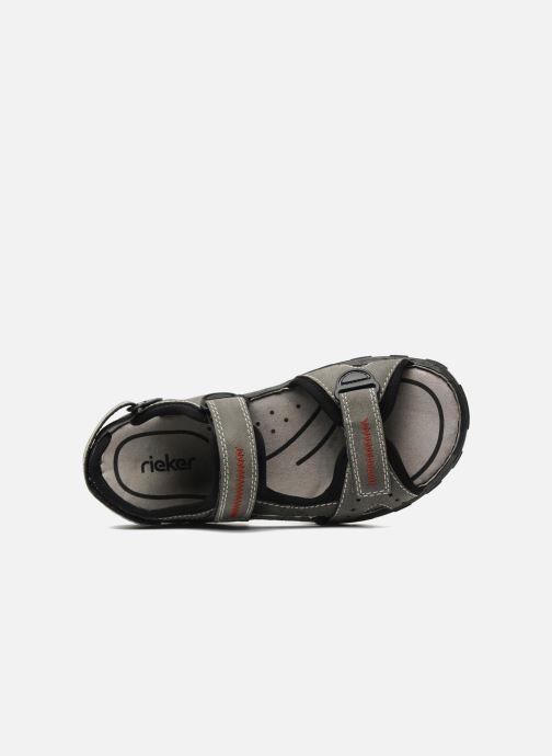 Sandali e scarpe aperte Rieker Christian Grigio immagine sinistra