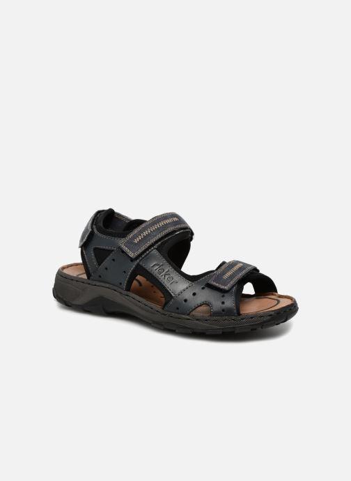 Sandales et nu-pieds Rieker Christian Bleu vue détail/paire