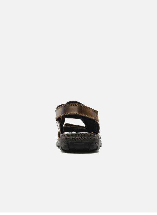Sandali e scarpe aperte Rieker Christian Marrone immagine destra