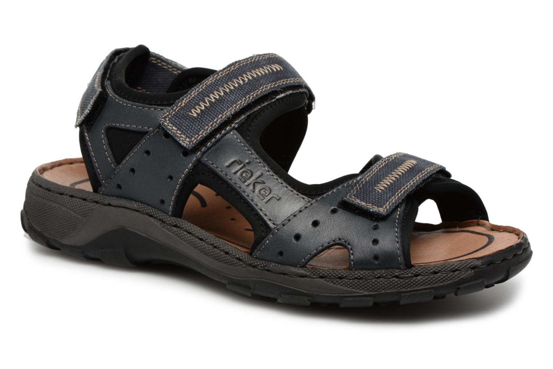Sandaler Rieker Christian 26061 Blå detaljeret billede af skoene