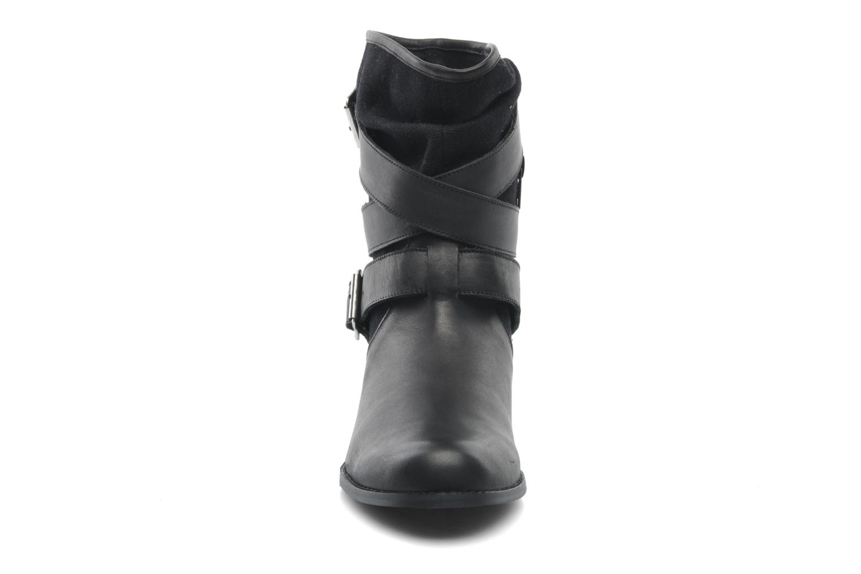 Bottines et boots Mellow Yellow Badilla Noir vue portées chaussures