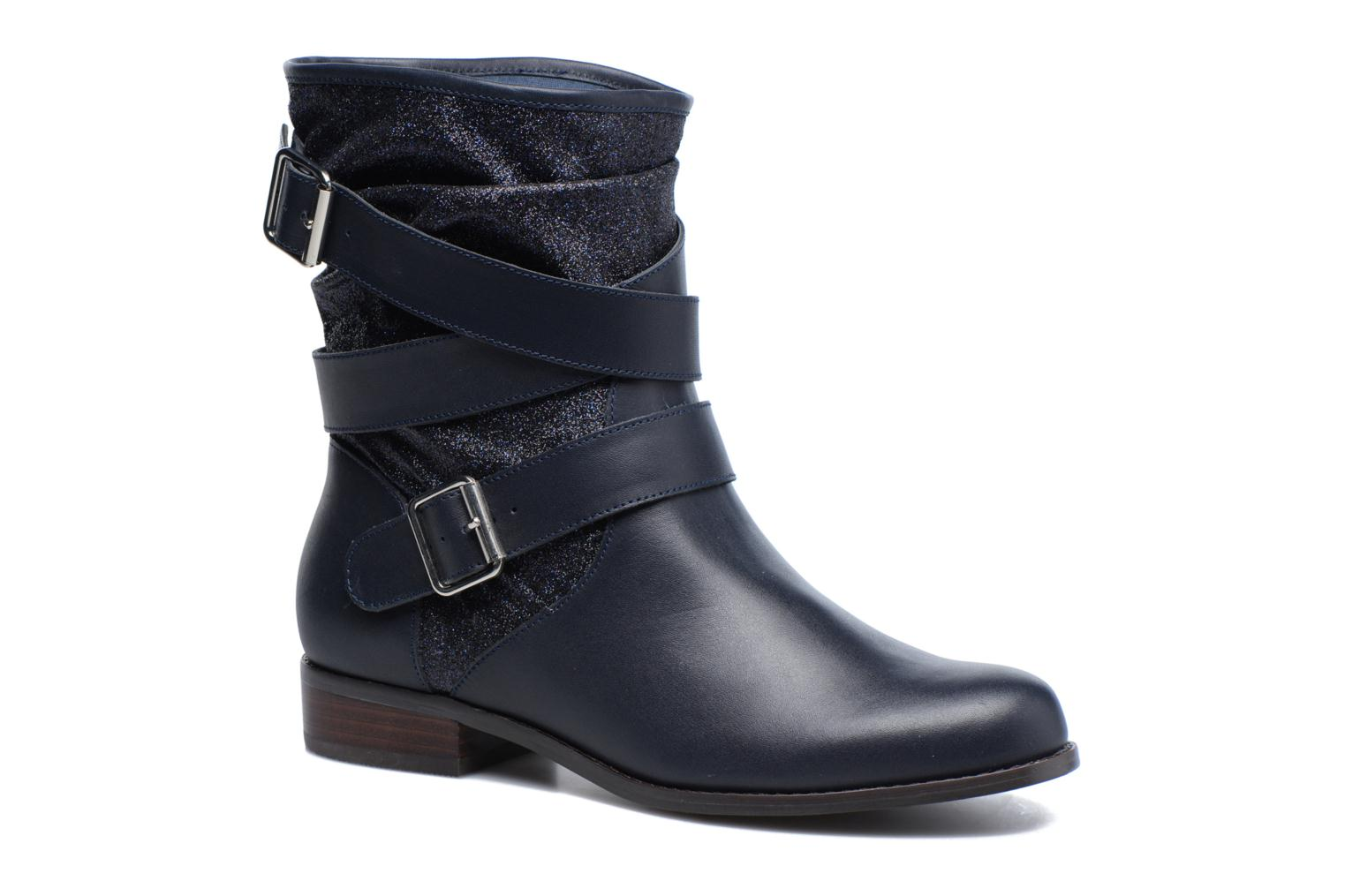 Ankle boots Mellow Yellow Badilla Blue detailed view/ Pair view
