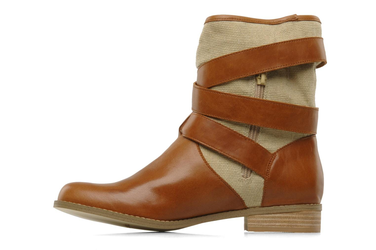 Ankle boots Mellow Yellow Badilla Brown front view