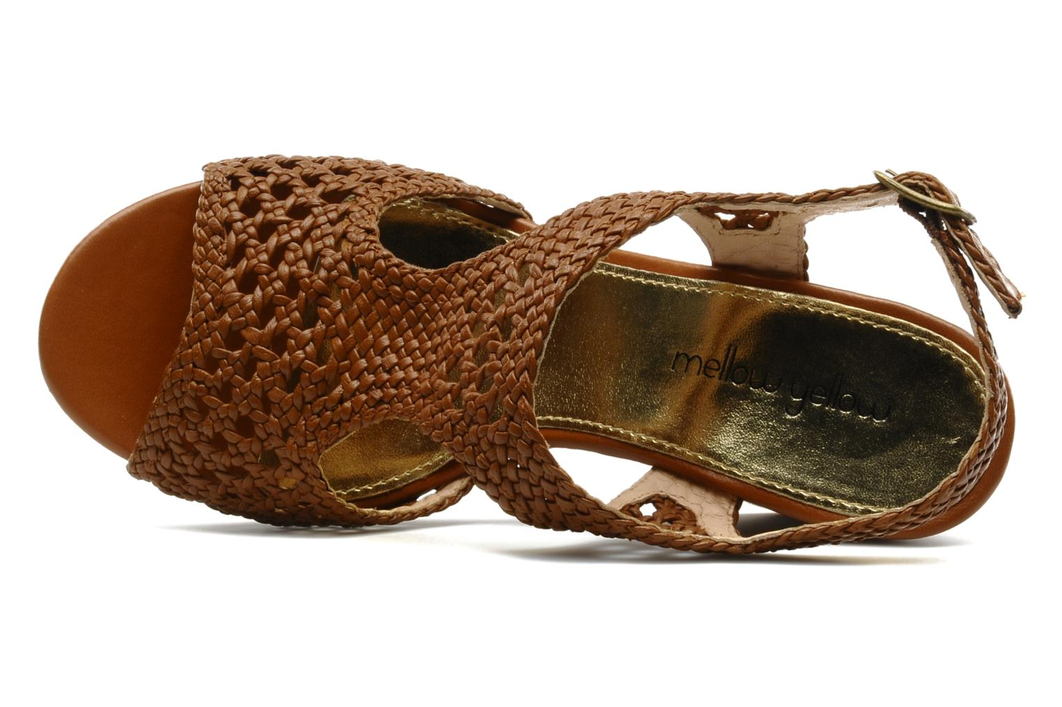 Sandals Mellow Yellow Lexic Brown view from the left