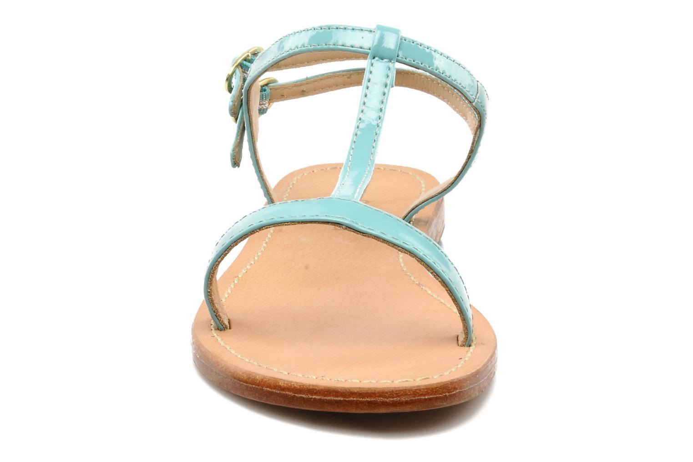 Sandales et nu-pieds Mellow Yellow Link Bleu vue portées chaussures