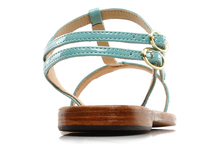 Sandales et nu-pieds Mellow Yellow Link Bleu vue droite