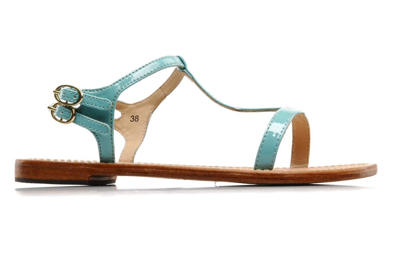 Sandales et nu-pieds Mellow Yellow Link Bleu vue derrière