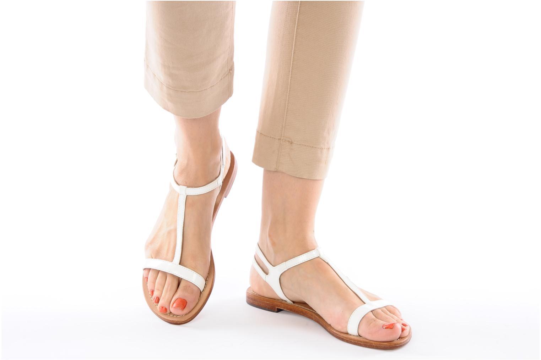 Sandales et nu-pieds Mellow Yellow Link Bleu vue bas / vue portée sac