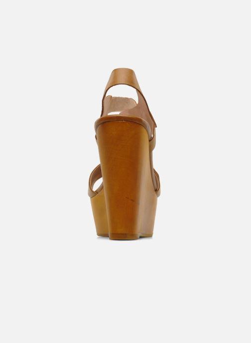 Sandales et nu-pieds Mellow Yellow Lupper Marron vue droite
