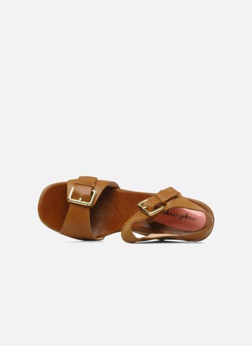 Sandales et nu-pieds Mellow Yellow Lupper Marron vue gauche