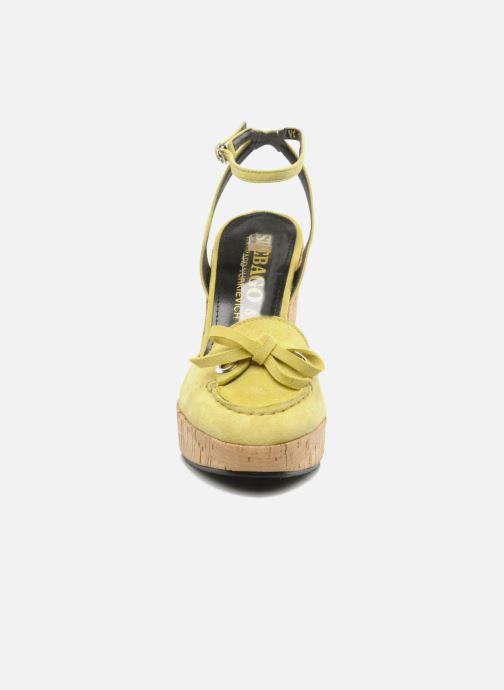 Nu Gaspard pieds Sandales Et Ydriss Sebagoamp; Yellow Yurkievich hsdCQBtrx