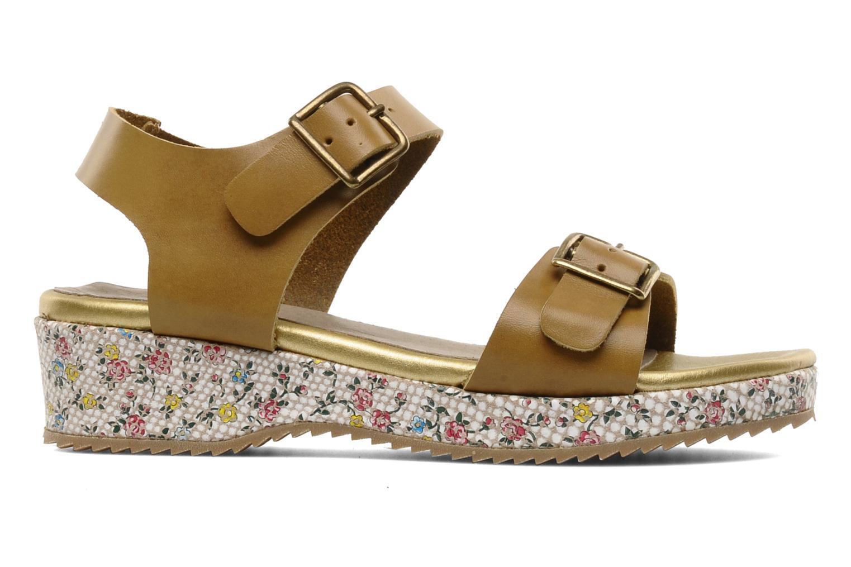 Sandales et nu-pieds C'Entre Maman & Moi! Layla Marron vue derrière