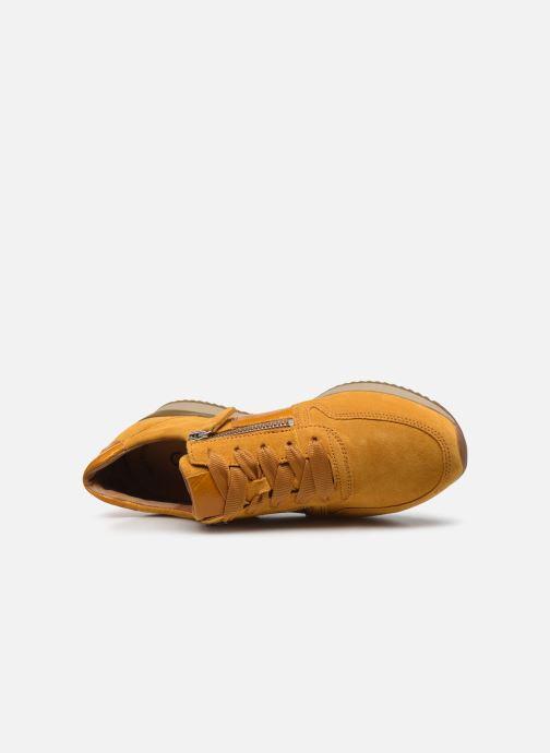 Sandales et nu-pieds Gabor Olivia Jaune vue gauche