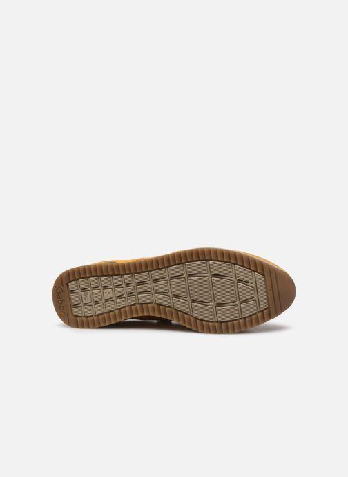 Sandales et nu-pieds Gabor Olivia Jaune vue haut