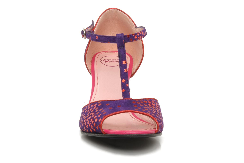 Sandales et nu-pieds Annabel Winship Hambug Violet vue portées chaussures