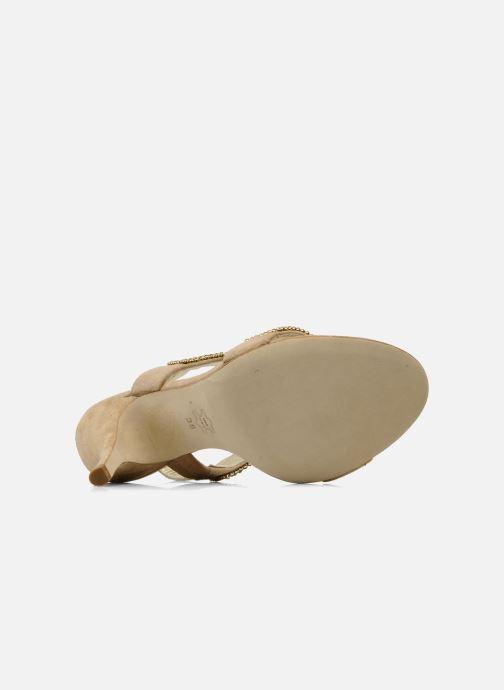 Sandaler Barachini Andrama Beige bild från ovan