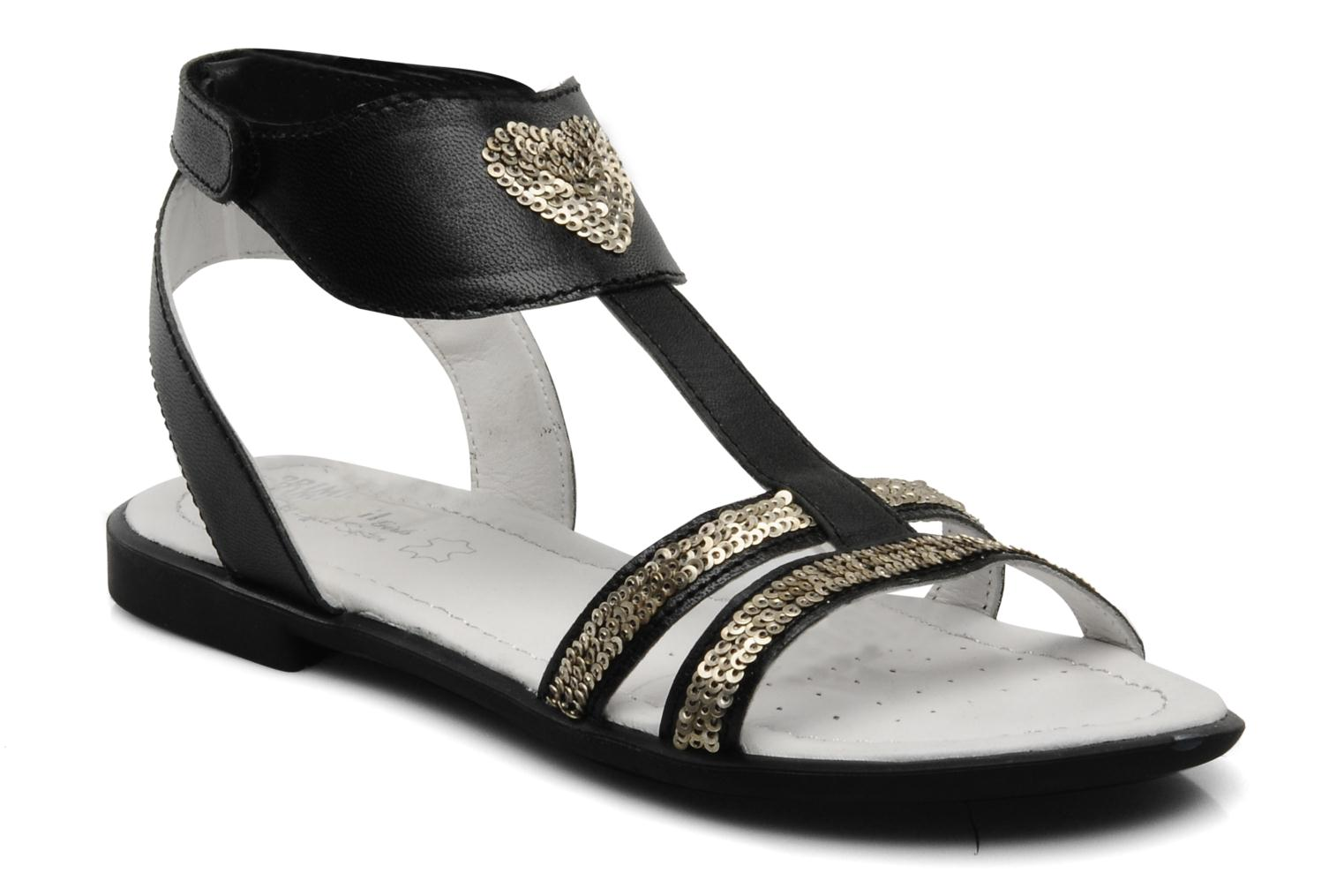 Sandals Primigi Soledad Black detailed view/ Pair view