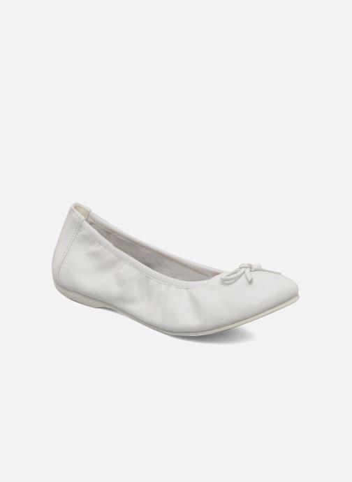 Ballerinaer Primigi Veridiana Hvid detaljeret billede af skoene