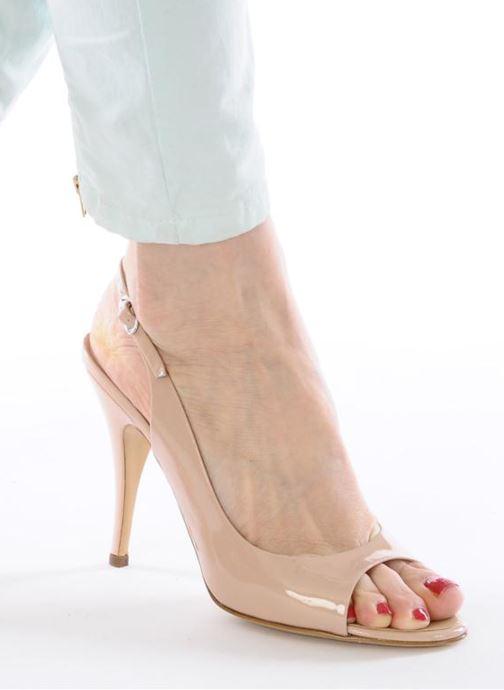 Sandalen Vicini Vrille rosa ansicht von unten / tasche getragen
