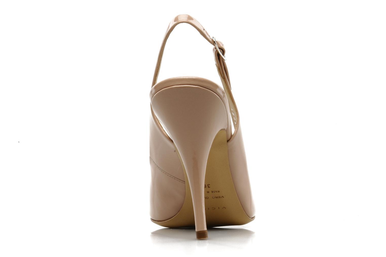 Sandales et nu-pieds Vicini Vrille Rose vue droite