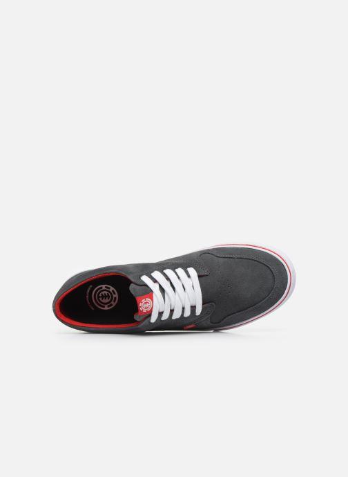 Chaussures de sport Element Topaz C3 Rouge vue gauche