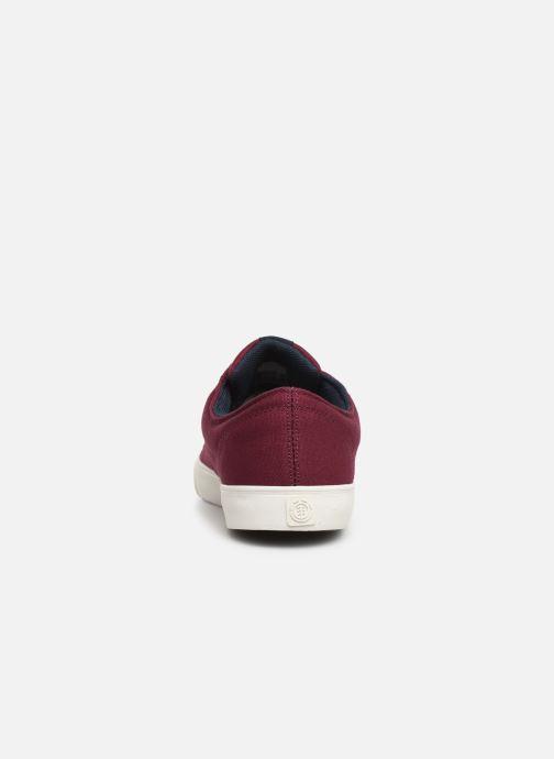 Chaussures de sport Element Topaz C3 Bordeaux vue droite