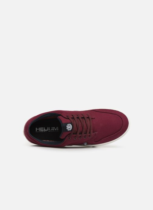Sport shoes Element Topaz C3 Burgundy view from the left