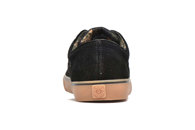 Chaussures de sport Element Topaz C3 Noir vue droite