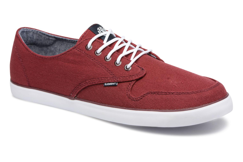 Element Topaz (Rouge) - Baskets en Más cómodo Chaussures casual sauvages