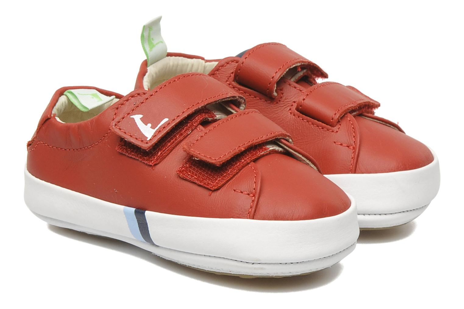 Baskets Tip Toey Joey New Flashy Rouge vue détail/paire