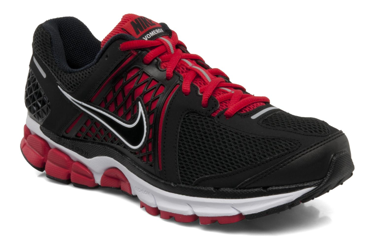 ac300761ea7a purchase factory outlet nike air zoom vomero 6 silver black dark grey red  running 260b5 f21f2  coupon code for trainers nike nike zoom vomero 6 black  ...