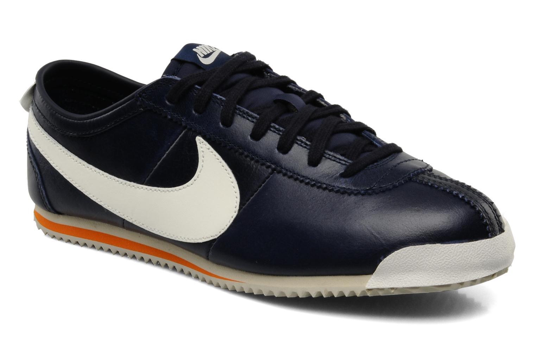 cheap for discount 29674 a655f ... clearance deportivas nike cortez classic og leather azul vista de  detalle par 21e25 b65c4