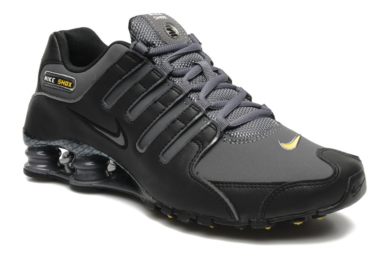factory price 9ad61 6d45b ... germany chaussures de sport nike nike shox nz eu noir vue détail paire  ec6ae 8ae4a