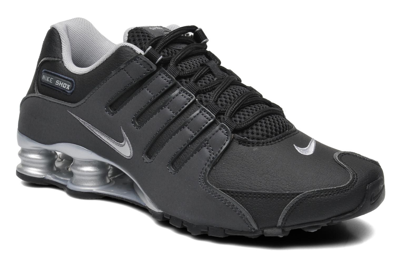 cheap for discount 440ad 8b53a Chaussures de sport Nike Nike shox nz eu Noir vue détail paire