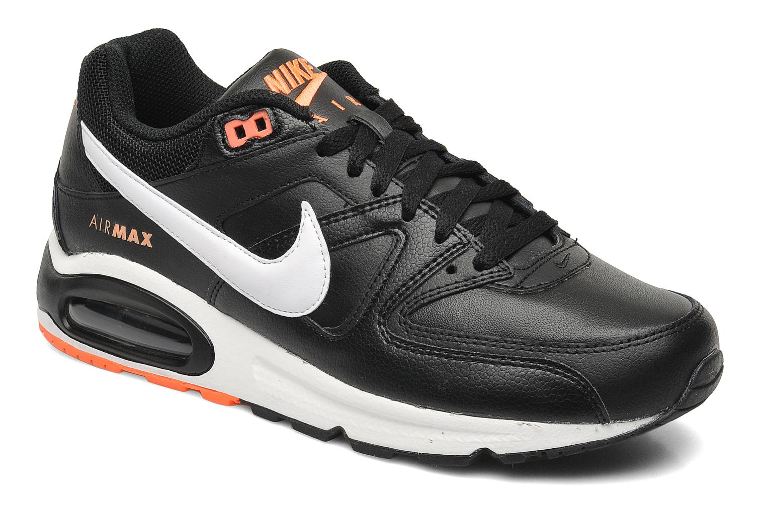 big sale 0ff19 33321 ... coupon for deportivas nike air max command leather negro vista de  detalle par ec14d b2834