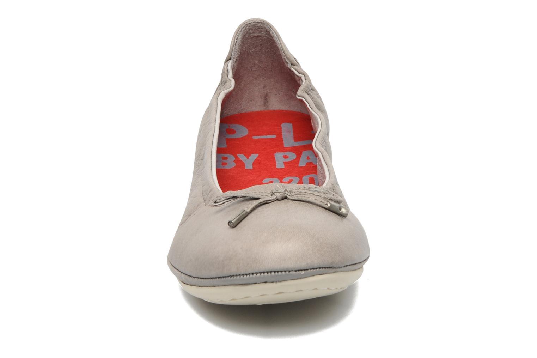 Ballerines P-L-D-M By Palladium Mombasa cash Gris vue portées chaussures