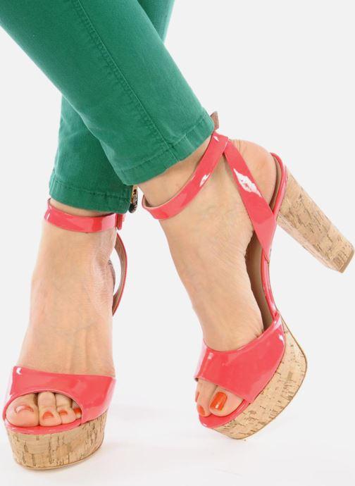 Sandales et nu-pieds Pour La Victoire Nasha Rose vue bas / vue portée sac