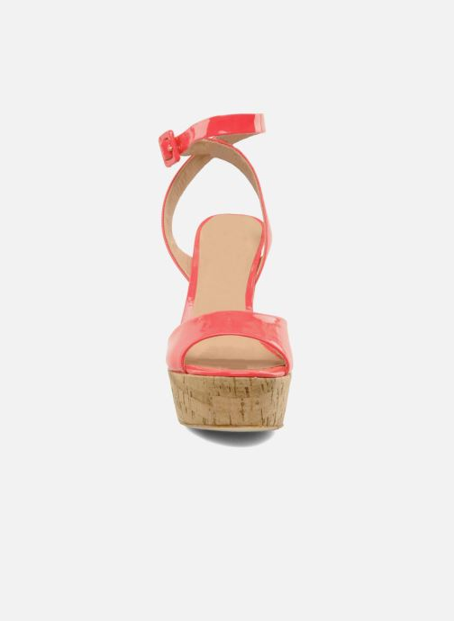 La Neon Nu Et Pour Victoire pieds Nasha Pink Patent Sandales 54LA3Rj