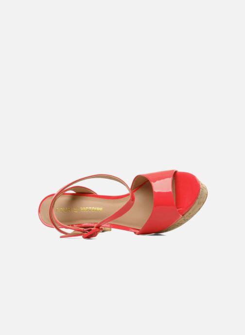 Sandales et nu-pieds Pour La Victoire Nasha Rose vue gauche