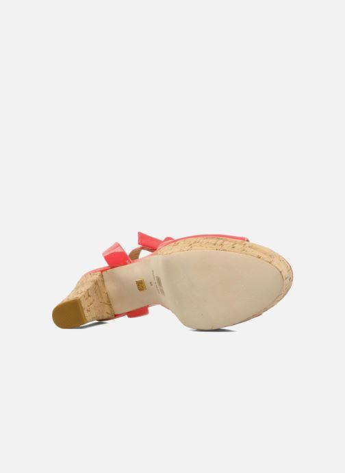 Sandales et nu-pieds Pour La Victoire Nasha Rose vue haut